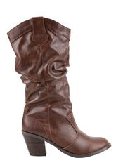 Lode Slouch Womens Boots - Brown