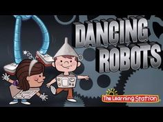 ▶ Brain Breaks - Dance Song - Dancing Robots - Children's Songs by The Learning Station - YouTube