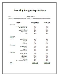 monthly report form printable templates free printables sales report template cover letter sample