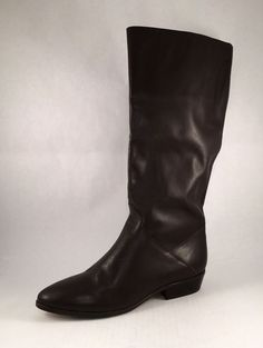 NWOT Leather Riding Equestrian Boot 10M Brown #Unbranded #RidingEquestrian #Everyday
