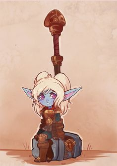 sharkees: the poppy rework is pretty cute right - More at:... #Leagueoflegends