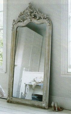 Beautiful mirrors, antique French mirrors, antique mirror, shabby chic, antique … - nizy for new year Decor, French Mirror, Beautiful Mirrors, French Decor, Vintage Mirrors, Mirrors For Sale, Shabby Chic, Floor Mirror, Mirror