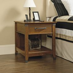 SmartCenter Side Table-Cherry