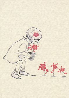 Belle & Boo illustration by Mandy Sutcliffe Belle Y Boo, Children's Book Illustration, Cute Drawings, Cute Art, Illustrators, Artsy, Sketches, Artwork, Prints
