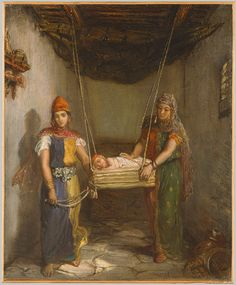 Scene in the Jewish Quarter of Constantine, 1851 Théodore Chassériau (French, 1819–1856) Oil on canvas
