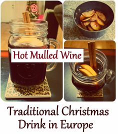 Hot Mulled Wine: Traditional Christmas Drink in Europe - Recipe