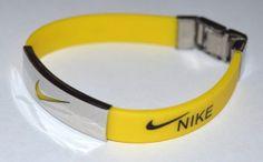 Yellow Nike Wristband Bob Marley Silicone Bracelets | eBay