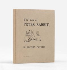 First edition first impression of the Tale of Peter Rabbit