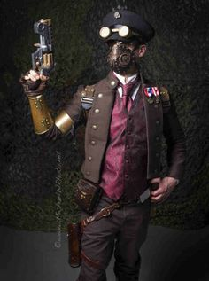 Steampunk Airship Captain | www.pixshark.com - Images ...