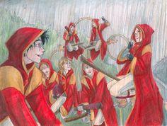 Quidditch Practice by burdge on @DeviantArt