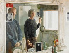 'In the Cellar Mirror' [Norman Charles Blamey].