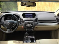 interior of  my new acura..love it!