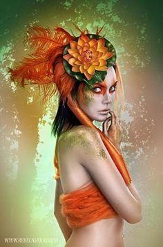 Walk In My Eyeshadow by oldrose