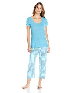 Cyberjammies Women s Daisy Knitted Top and Check Pant 823546e55