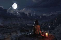 paisajes de lunas hermosas - Buscar con Google