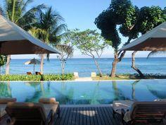 quinci villa pool Lombok
