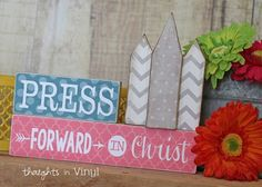 Beautiful Craft...great for YWs or for each of your children to have.