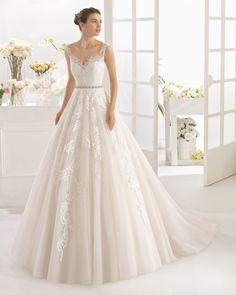 9438b40ea74 CAMBRIDGE vestido de novia Aire Barcelona 2017 Luxury Wedding Dress