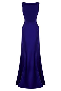 With a subtly draped bodice this stunning gown is perfect for a sleek and elegant look. The Adelise Maxi Dress insures a perfect silhouette with its cinched in waist, contouring seams and clean cut fishtail hem. The slight drape at the neck draws attention to the bust area giving an effortless easy aesthetic, whilst the low cut draped back adds a daring look. The dress is fully lined for effortless wearing and is 134.5/53 inches long from underarm to hem.
