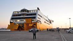 Sardinia Corsica Ferries a Porto Torres dopo trent'anni