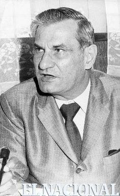 Jose Rafael Pocaterra. Escritor. Caracas, 09-12-1972 (ARCHIVO / EL NACIONAL)