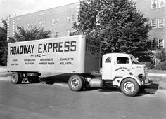 Mack Trucks This EHU cabover from Roadway Express was used in freight hauling and was equipped with an integral sleeper cab. Approximately 1,130 EHU tractors were built in the years 1939 to 1949