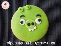 Angry Birds cookies - PIG