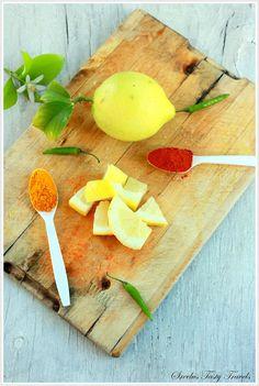 Sreelus Tasty Travels: Easiest Lemon Pickle Ever - Nimakaya Pachadi