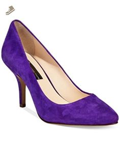 INC International Concepts Zitah Pumps Winter Plum Suede 5M - Inc international concepts pumps for women (*Amazon Partner-Link)