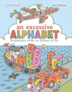 The reader is invited to identify items in the illustrations that begin with each letter of the alphabet.