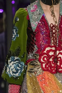 awesome Gucci at Milan Fall 2017 (Details)... Haute couture Check more at http://pinfashion.top/pin/60527/
