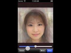 [Averaging 10 Female Faces] 女性10名の顔を平均する