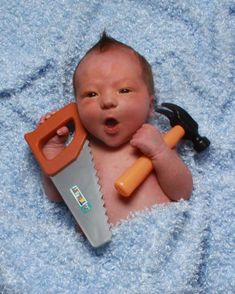 cute baby photography idea