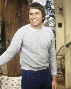 """John Ritter (1948 - 2003): When """"Three's Company"""" made its debut in the spring of 1977 on ABC, there was no other show like it. The show was an instant hit. And, there was no man funnier than John Ritter, whose physical antics every week kept viewers tuning in every Tuesday night. Ritter went on to do other series  on television but none could match the success or popularity of """"Three's Company."""" Like so many beloved figures of the past, John Ritter's life was cut short at the age of 54 in…"""