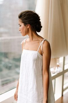 Elegant and pretty bridal updo | Image by Laura Rowe