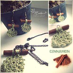 Herb filled earrings  'Wear the meadow@  www.nolam.hu