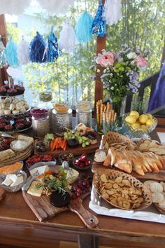 Vinwood Caterers Antipasto Table Hors D Oeuvres