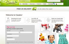 Casabu offers big discounts on popular brand name products for children and mothers. This UK based private shopping club provides discounts to its members of up to 90% off items featured on the site.
