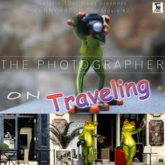 Jetzt ist sie da, der zweite Teil der Geschichte um unser Froschpaar, diesmal auf großer Reise in fremde Länder, zu anderen Kulturen. Aufregende Abenteuer erwarten die beiden. Und mittendrin der uns bereits bekannte kleine Fotograf. FUNNY FROGS sind die ideale Idee, wenn Sie ein Geschenk mit Spaß und Augenzwinkern suchen. Jetzt in der Galerie 10er-Haus in Gmunden oder im 10er-Haus Onlineshop.   #geschenkidee #lustigerfrosch #funnyfrogs #frosch #lustigerfilm Funny Frogs, Shops, Humor, Presents, Christmas Ornaments, Holiday Decor, Travel, Adventure, History
