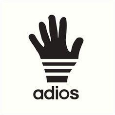 Adios a sporty logo parody