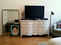 Cool TV stand idea