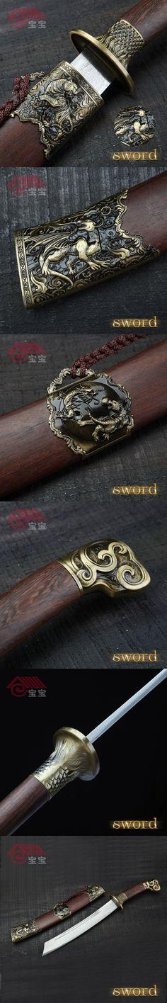 LQS15hj100031 collection sword riffled iron sword vintage home decor $167