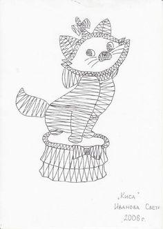 RODRIMAN ..... LRM --------------- Patrones comprados , regalados en encuentros y bajados de internet . Bobbin Lace Patterns, Embroidery Patterns, Cat Template, Lacemaking, Disney, Point Lace, Needle Lace, Cat Pattern, Fauna