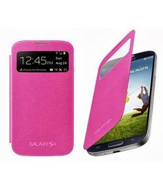 Sfe Flip Covers For Samsung Galaxy S4 I9500 S-view (pink) With Screenguard, http://www.snapdeal.com/product/sfe-flip-covers-for-samsung/884625256