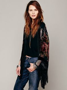 Free People Floral Kimono on shopstyle.com