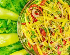 Salade de mangues vertes à la thaï #recettesduqc #salade