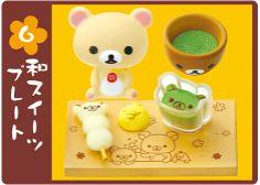 San-X Rilakkuma Bear Sweets In Dream Rement 2-Inch Mini-Figure #7