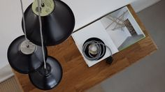 LamP, recycled LP lighting is a durable lighting collection made of recycled material. The lampshade is made from repurposed vinyl record singles or plates.