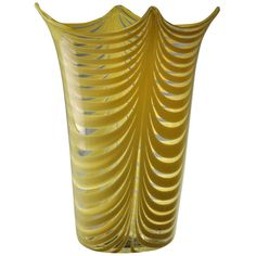 """Venini - Rare """"fenicio"""" Vase designed by Tyra Lundgren Circa. 1948   From a unique collection of antique and modern vases at https://www.1stdibs.com/furniture/more-furniture-collectibles/vases/ Venini - Rare """"fenicio"""" Vase designed by Tyra Lundgren Circa. 1948  Offered By Galerie Plaisance  $7,500"""