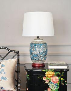 Guangzhou Nansha Jingchang Ceramics & Lamps Fty - Ceramics Lights & Lighting, Ceramics Home Decor Ceramic Stool, Ceramic Table Lamps, Ceramic Decor, Large Floor Vase, Vintage Centerpieces, Table Lamps For Sale, Ceramic Light, Asian Home Decor, Antique Decor